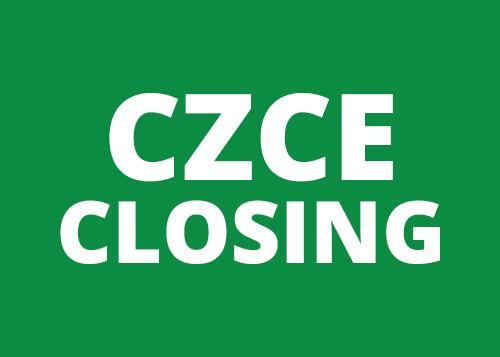 CZCE Cotton #1 Closing
