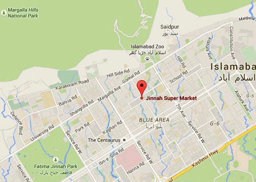 Location of Mandi in Pakistan